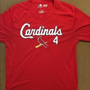 St. Louis Cardinals Molina performance t-shirt L
